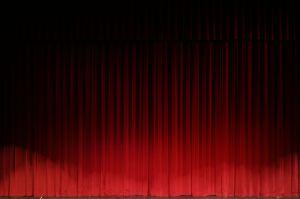 black-curtain